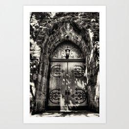 Chapel Doors Art Print