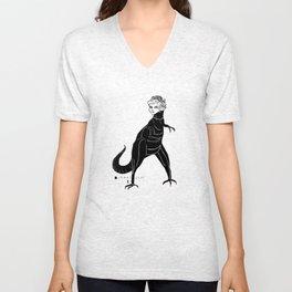 dianasaurus rex Unisex V-Neck