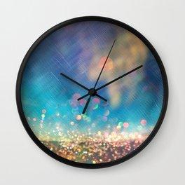 Dazzling lights I Wall Clock