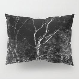 Black and white tree photography - Watercolor series #6 Pillow Sham