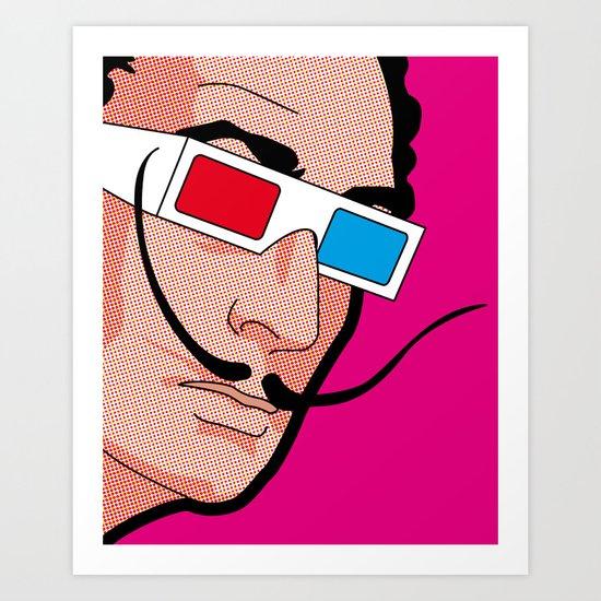 Pop Icon - Savador Art Print