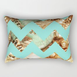 Vintage Chevron Rectangular Pillow