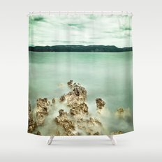 Timeless sea Shower Curtain