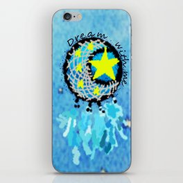 Dream with me  iPhone Skin