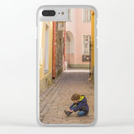 Concentration Clear iPhone Case