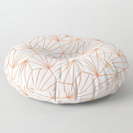 Rose Gold & White #society6 #decor #buyart Floor Pillow