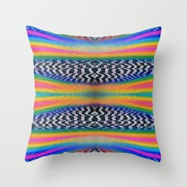 Ska Prism Throw Pillow