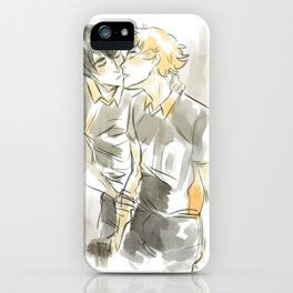 volleyball kiss iPhone Case