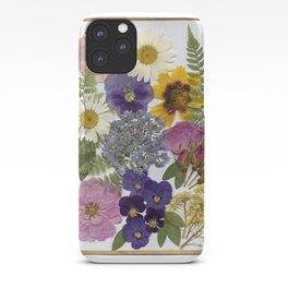 Pressed Flower Garden iPhone Case