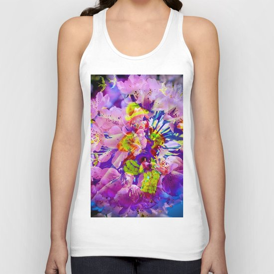 flowers magic Unisex Tank Top
