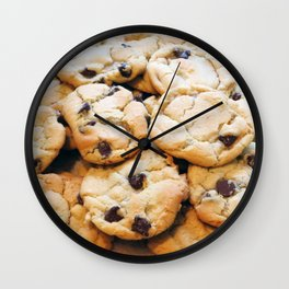 Chocolate Chip Cookies Wall Clock
