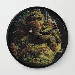 Stoned elephant  Wall Clock