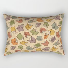 Colorful Covers - Red Rectangular Pillow