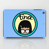 tina crespo iPad Cases featuring Tina by Page394