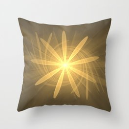 Sun Burst of Nine Throw Pillow