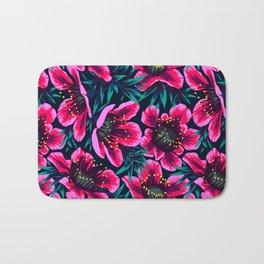 Manuka Floral Print Bath Mat