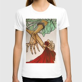 Hands (Breathe in, breathe out) T-shirt
