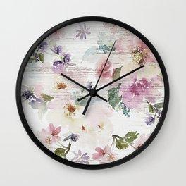 Vintage Spring Love Wall Clock