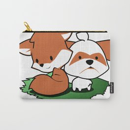 Chibi fox and the shi Carry-All Pouch