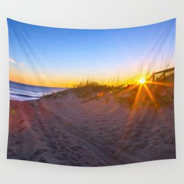 Nags Head Sunrise Wall Tapestry