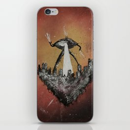War of the Worlds by H. G. Wells iPhone Skin