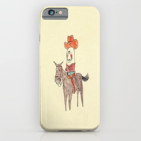 Manatee Cowboy iPhone & iPod Case