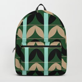 Abstraction_Floral_Pattern_Art_Minimalism_002B Backpack