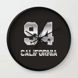 California 94 Wall Clock