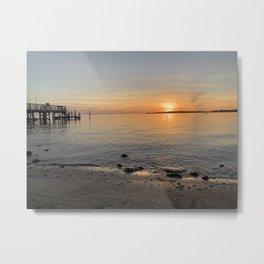 Air brushed sunset Metal Print