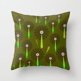 zappwaits Flower Throw Pillow