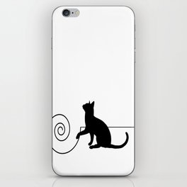 les chats #3 iPhone Skin