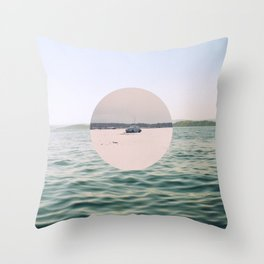 Inbetween Seasons Throw Pillow