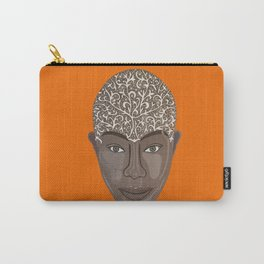 brown visage Carry-All Pouch