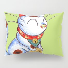 Calico Kitty Pillow Sham