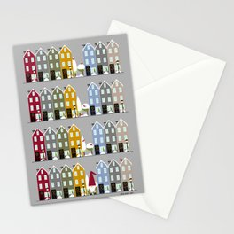 Row Houses + Gnome Stationery Cards