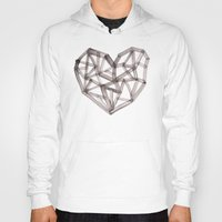 wooden Hoodies featuring Wooden Heart by Picomodi
