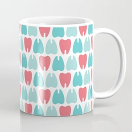 Colorful molar teeth Coffee Mug