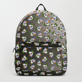 Dachshund - Day of the Dead Sugar Skull Wiener Dog Backpack