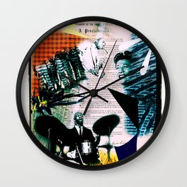Proclamation Wall Clock