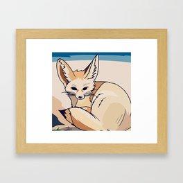 Fennec Fox Framed Art Print
