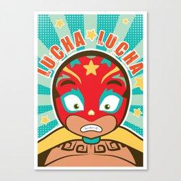 LUCHA LUCHA Canvas Print