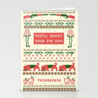 sweater Stationery Cards featuring A Christmas Sweater by Sarajea