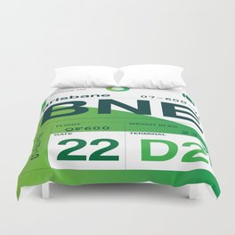 Bag Tag BNE Duvet Cover