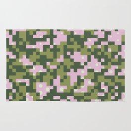 Camo pixel Rug
