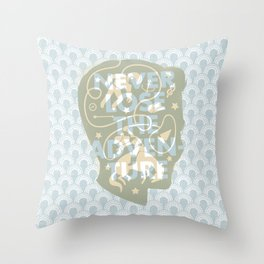 Never Lose The Adventure Throw Pillow