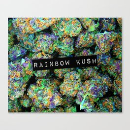 Rainbow Kush Canvas Print