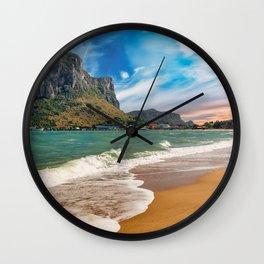Ao Noi beach Thailand Wall Clock