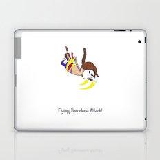 Flying Barcelona Attack Laptop & iPad Skin