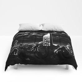 Space Odyssey Evolution Monolith Comforters