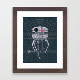 Imperial Probe Deco Droid Framed Art Print